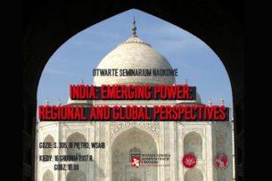 Wykłady Profesora Shantanu Chakrabarti (University of Calcutta) orazProfesora Arvinda Kumara (Manipal University)