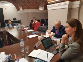 Wizyta PTSM iISM UW wPetersburgu wramach grantu MSZ