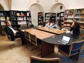 Wykłady dr. hab. Jakuba Zajączkowskiego w Sankt Petersburgu w ramach grantu MSZ