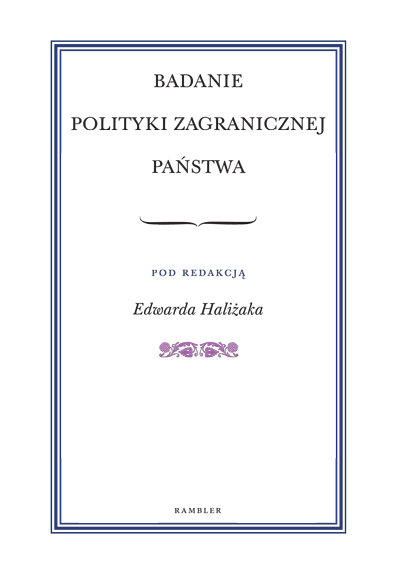 07. Halizak Badanie Polityki Zagranicznej Panstwa
